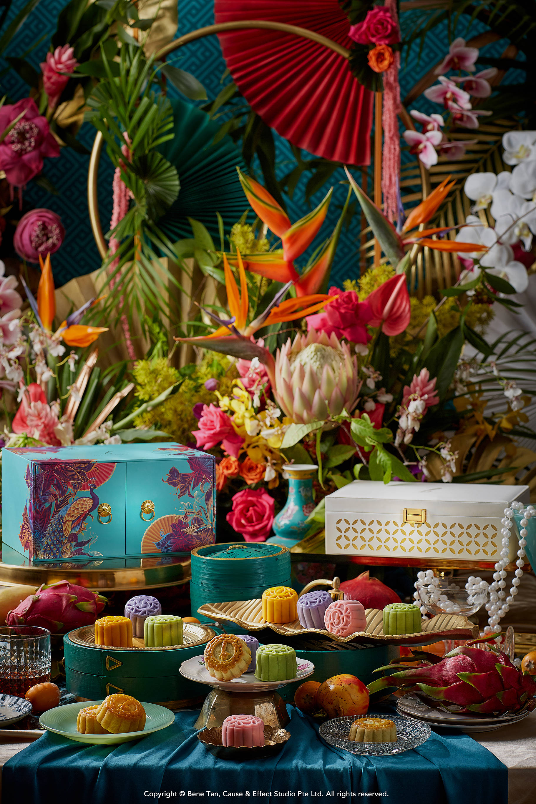 Crazy Rich Mooncake Collection 2019 by Baker's Brew Studio