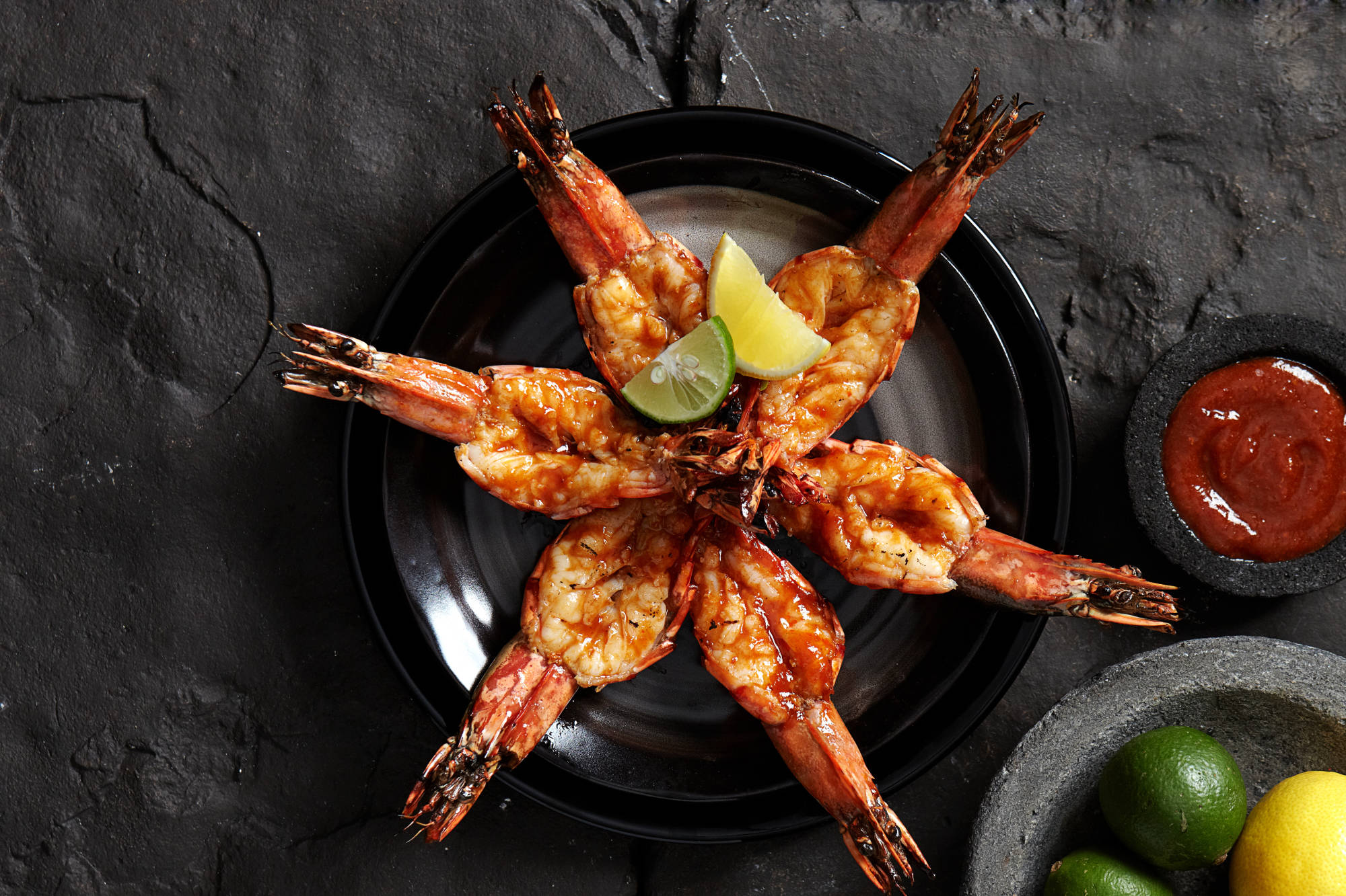 Grilled Prawn Indonesian Style