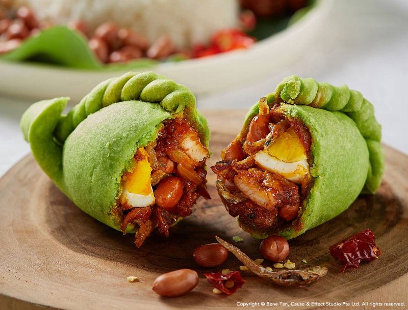 nasi lemak puff by old chang kee