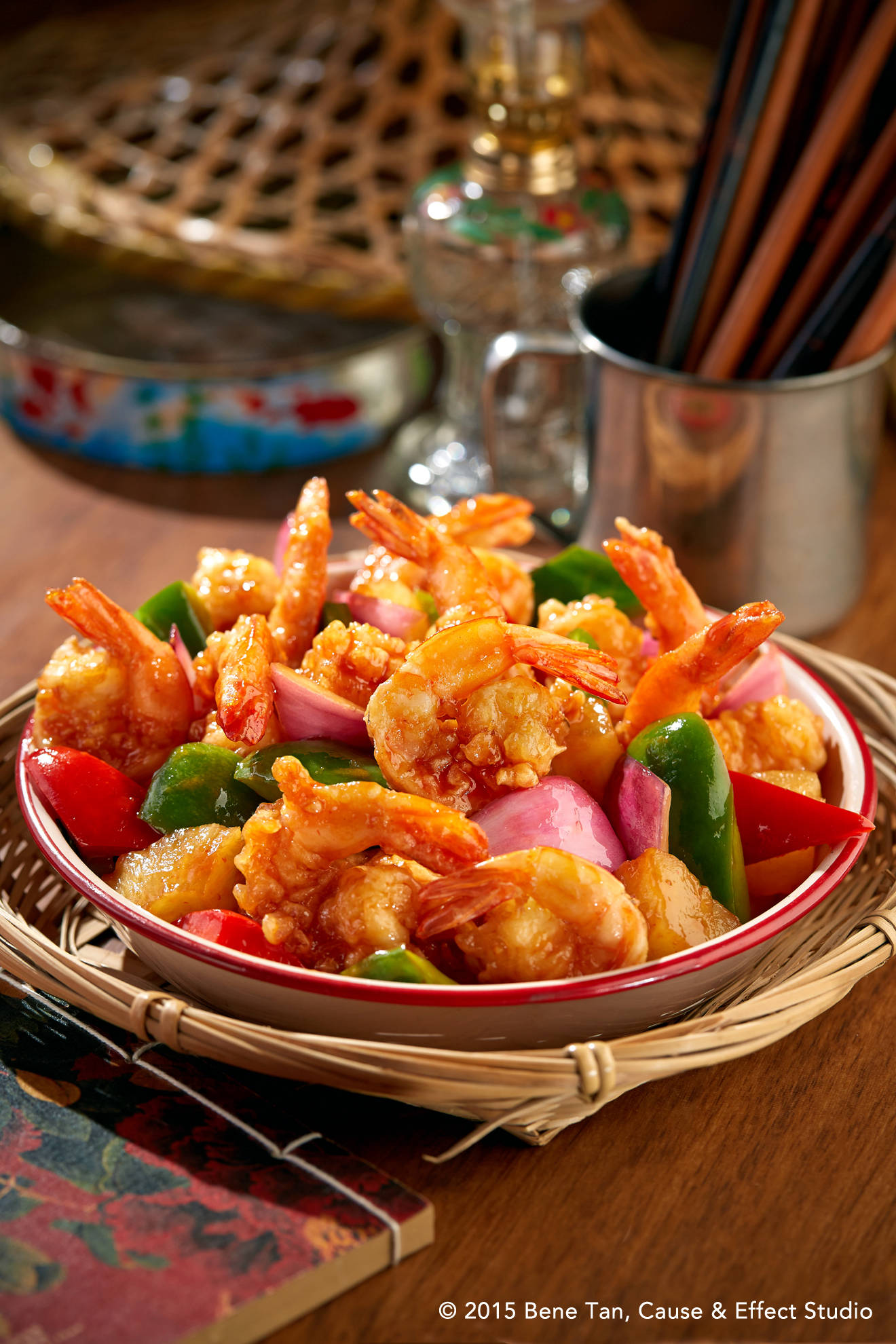 Sweet & Sour Prawn by CurryTimes
